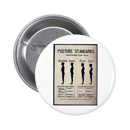 Posture Standards Button