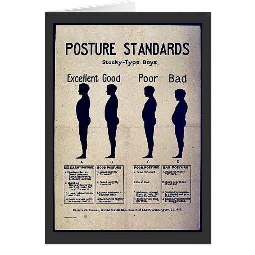 Posture Standards Card