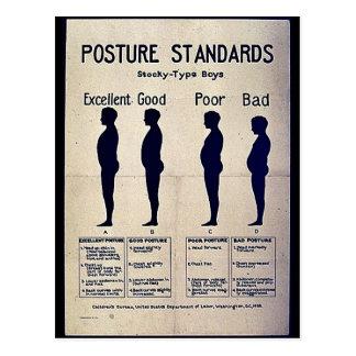 Posture Standards Post Card