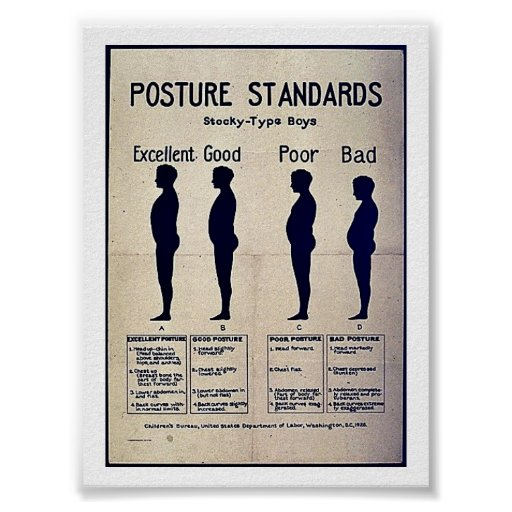 Posture Standards Print