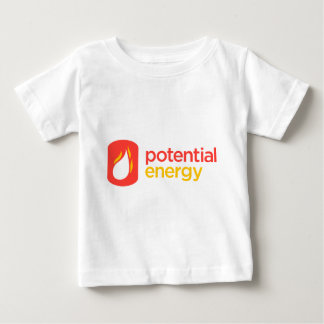 Potential Energy Two-Row Logo Baby T-Shirt