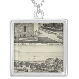 Pottawatomie, Kansas Silver Plated Necklace