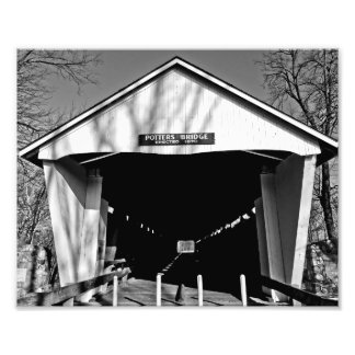 Potters Covered Bridge Photograph