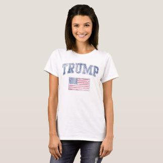 POTUS Trump Patriotic Flag T-Shirt