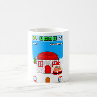 Pou_Christmas Coffee Mugs