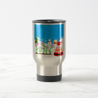 Pou_Christmas Travel Mug