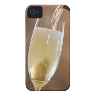 Pouring champagne iPhone 4 Case-Mate cases