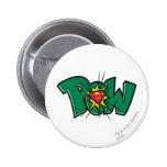 Pow 6 Cm Round Badge