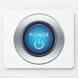 Power Button Mouse Pad