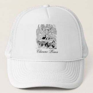 Power Mexican American Trucker Hat