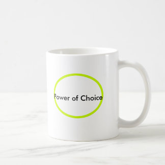 Power of Choice The MUSEUM Zazzle Gifts Coffee Mug