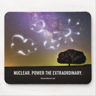 Power the Extraordinary Cloud Mousepad