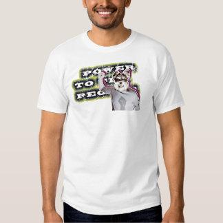 Power To The People - Dog Tee Shirt