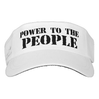 Power to the People Visor
