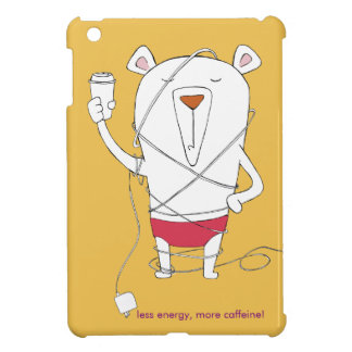 'Powered by caffeine' case iPad Mini Cases