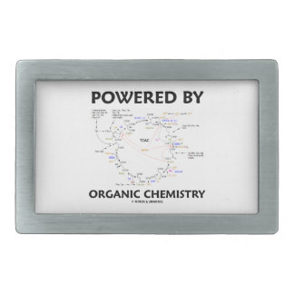 Powered By Organic Chemistry (Krebs Cycle) Belt Buckle