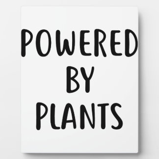 Powered By Plants Plaque