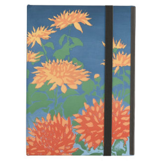 Powis iCase for iPad, Chrysanthemums iPad Air Case
