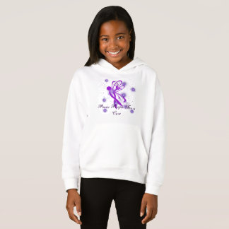 PPFC - Girls Fleece Pull Over Hoodie