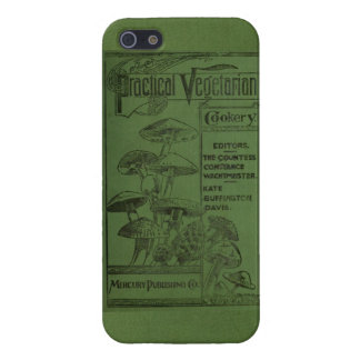 Practical vegetarian cookery (1897) iPhone 5 case