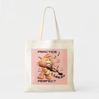 PRACTICE MAKES PERFECT BUDGET TOTE BAG
