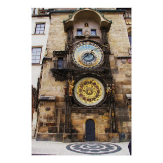 Prague Astronomical Clock  POSTER