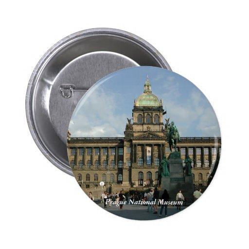 Prague National Museum Button