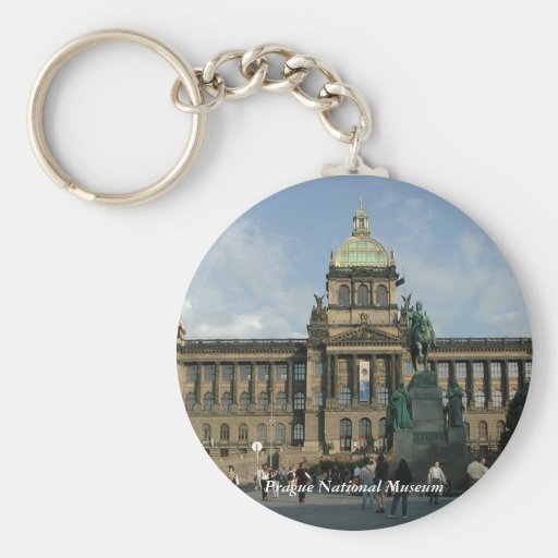 Prague National Museum Keychain