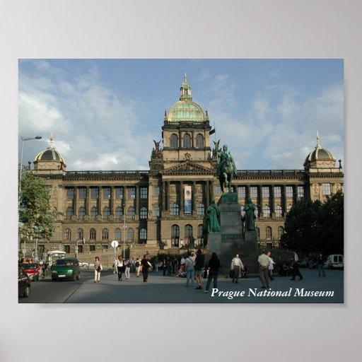 Prague National Museum Print