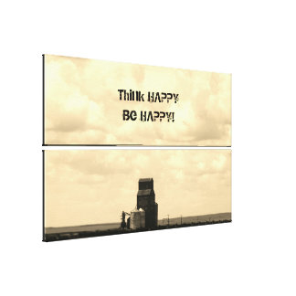 Prairies Quote Canvas Print