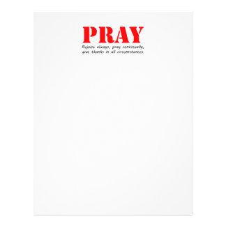 Pray Flyer