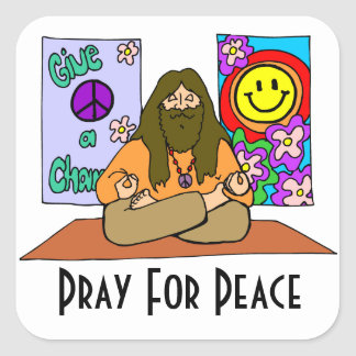 Pray For Peace Sticker