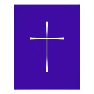 Prayer Book Cross White 21.5 Cm X 28 Cm Flyer