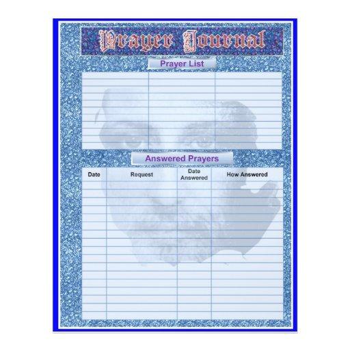 PRAYER JOURNAL PAGES Album / Binder Insert Pages Custom Flyer