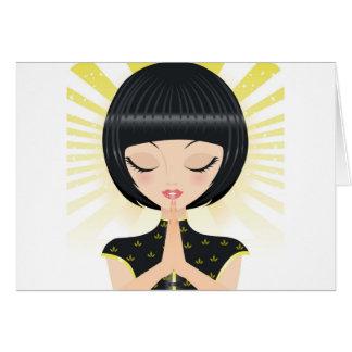Praying Card