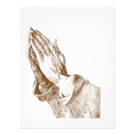 Praying Hands Custom Flyer