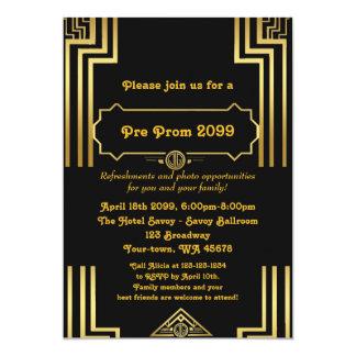 Pre-Prom invitation, Pre Prom, Quinceanera,Sixteen Card