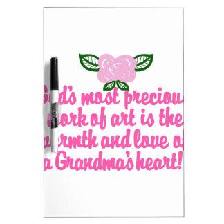 Precious Grandma Dry Erase Board