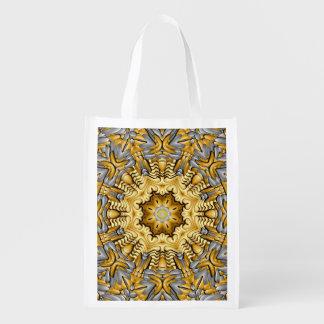 Precious Metal Colorful Reusable Bags Market Totes