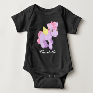 Precious Moments | Unicorn - Add Your Name Baby Bodysuit