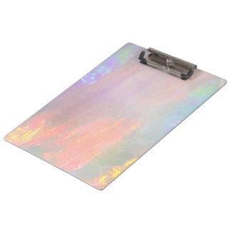 Precious opal clipboard