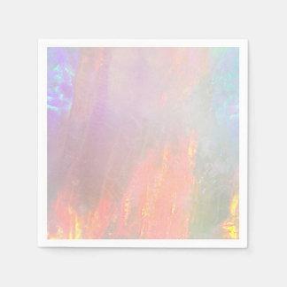 Precious opal disposable serviette