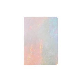 Precious opal passport holder