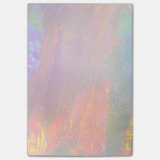 Precious opal post-it® notes