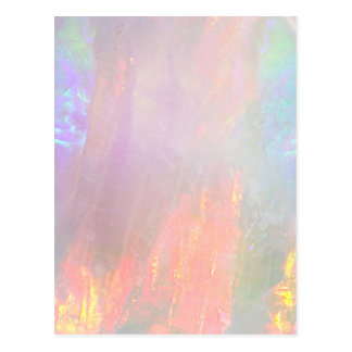 Precious opal postcard
