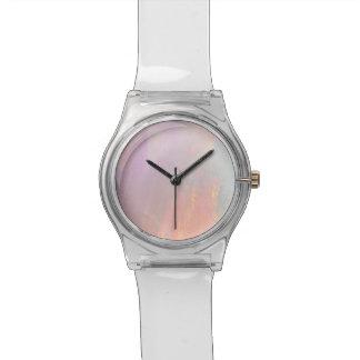 Precious opal watch