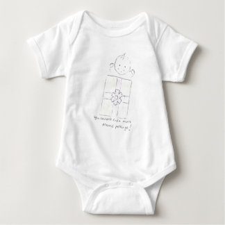 Precious package baby bodysuit