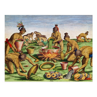Preparations for a Feast from Brevis Postcards