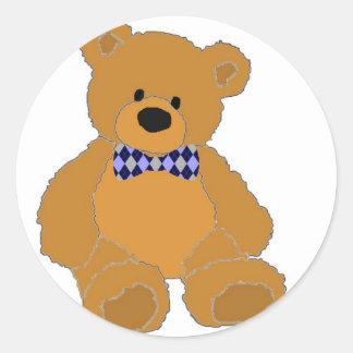 Preppy Bear Stickers