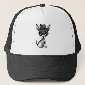 Preppy Chihuahua Trucker Hat